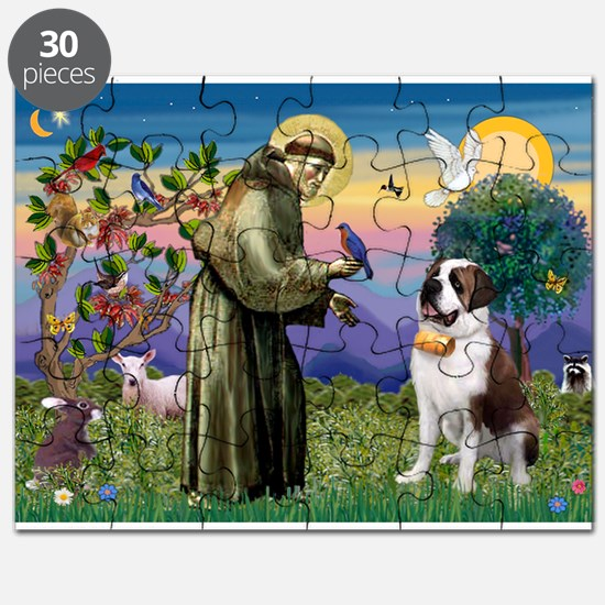 St. Francis/ St. Bernard Puzzle