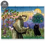 St Francis / Schipperke Puzzle
