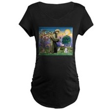 St Francis & Schnauzer (#5) T-Shirt