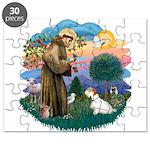 St Francis #2/ Sealyham T Puzzle