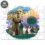 St.Francis #2/ 2 Shelties Puzzle