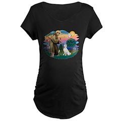 St Francis #2/ S Husky (W) T-Shirt