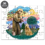 St Francis #2/ Wheaten #2 Puzzle