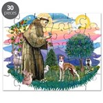 St Francis #2/ Whippet #12 Puzzle