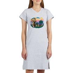 St.Francis #2/ Yorkie (#9) Women's Nightshirt