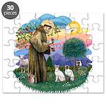 St. Fran (ff) - 2 Siamese (Pr Puzzle