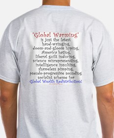 Global Warming is the New Global Cooling Light Tee