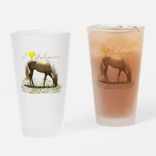 Unique Horseback riding Drinking Glass