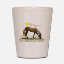 Cute Horseback riding Shot Glass