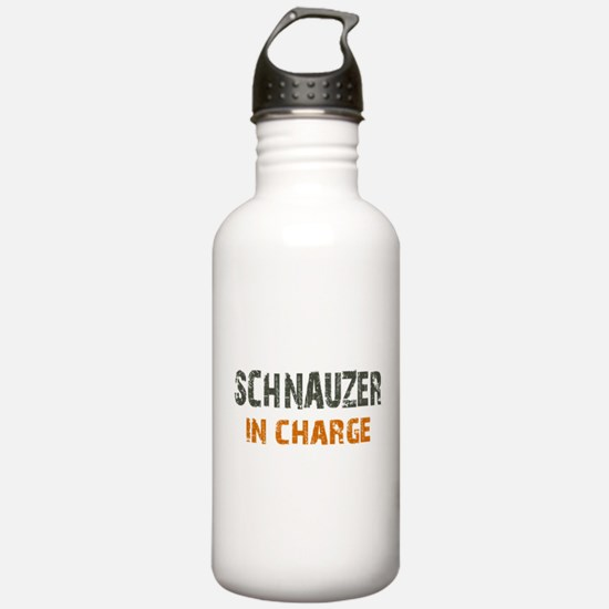 Schnauzer IN CHARGE Water Bottle