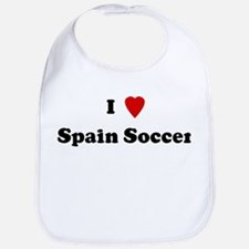 I Love Spain Soccer Bib