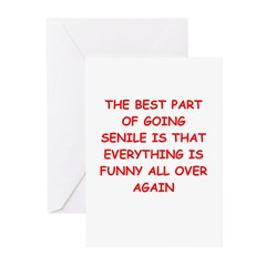 Old farts jokes Greeting Cards (Pk of 20)