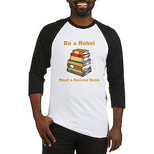 Rebel read a Banned Book Baseball Jersey