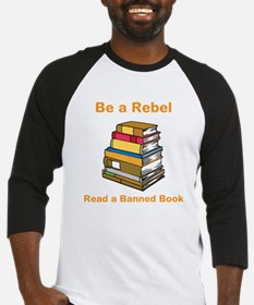 Rebel read a Banned Book Baseball Jersey