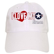I Love My Airman Baseball Cap