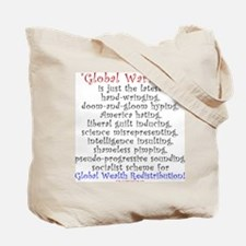 Global Warming is the NEW Global Cooling Tote Bag