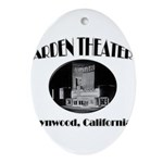 Arden Theater Ornament (Oval)