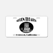 Arden Theater Aluminum License Plate