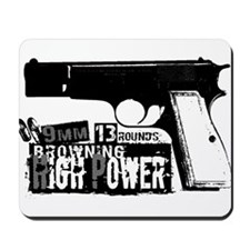 Browning Hi-Power Mousepad