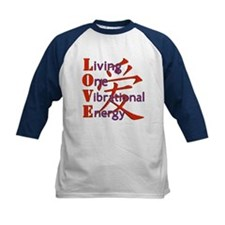 Living, One,Vibrational,Energy Tee