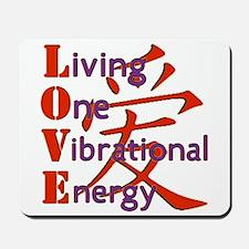 Living, One,Vibrational,Energy Mousepad