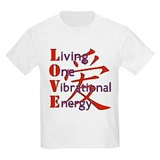 Living, One,Vibrational,Energy T-Shirt