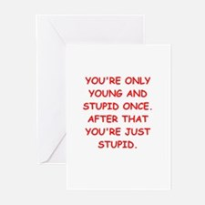 Old farts jokes Greeting Cards (Pk of 10)