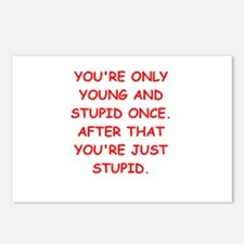 Old farts jokes Postcards (Package of 8)