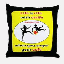 Romantic Comedy Throw Pillow