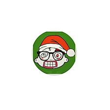 Zombie Nerd. Holiday Mini Button