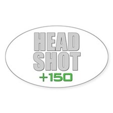 Head Shot +150 Decal