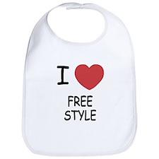 I heart freestyle Bib