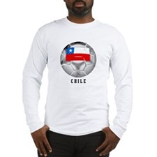 Chile soccer Long Sleeve T-Shirt