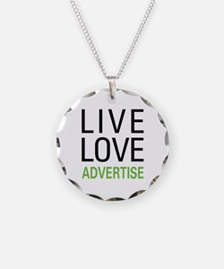 Live Love Advertise Necklace