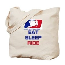 eat sleep ride Tote Bag