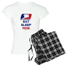 eat sleep ride Pajamas