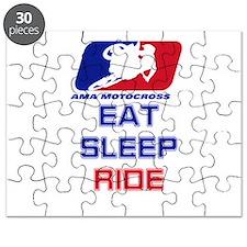 eat sleep ride Puzzle
