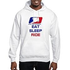 eat sleep ride Hoodie