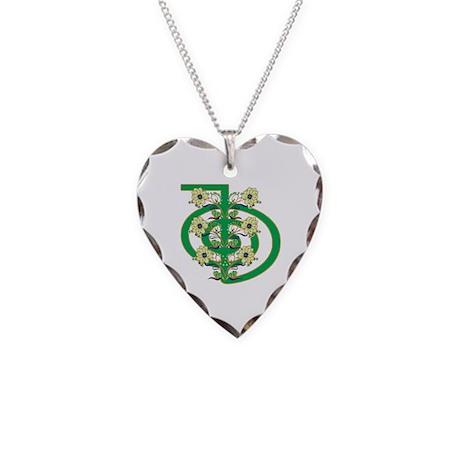 Cho Ku Rei Power Necklace Heart Charm