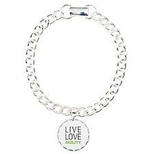 Live Love Agility Charm Bracelet, One Charm