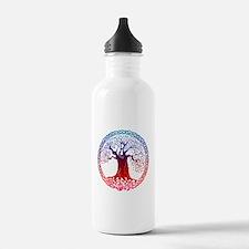 Sunset Celtic Tree Water Bottle