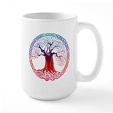 Sunset Celtic Tree Mug