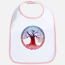 Sunset Celtic Tree Bib