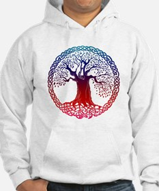 Sunset Celtic Tree Hoodie