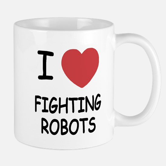 I heart fighting robots Mug