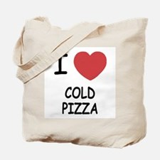 I heart cold pizza Tote Bag