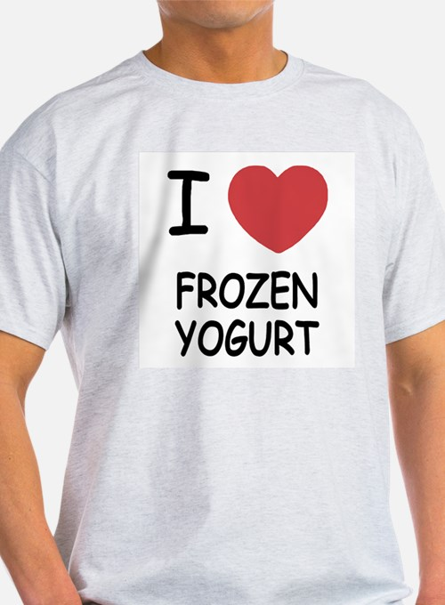 I heart frozen yogurt T-Shirt