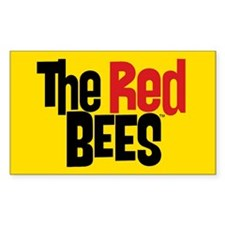 Red Bees Decal
