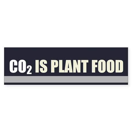 CO2 Is Plant Food Sticker (Bumper)