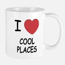 I heart cool places Mug